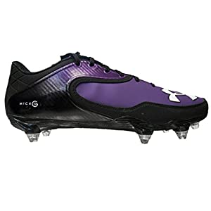 Under Armour Team Nitro Icon Low D Men's Detachable Football Cleats (13.5, Bl...