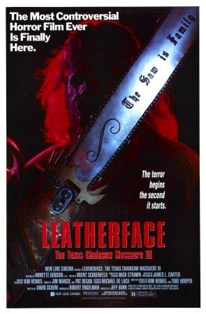 Texas Chainsaw Massacre Leatherface 3 Movie Poster 11x17 Master Print (Vinyl Chainsaw Massacre Texas)