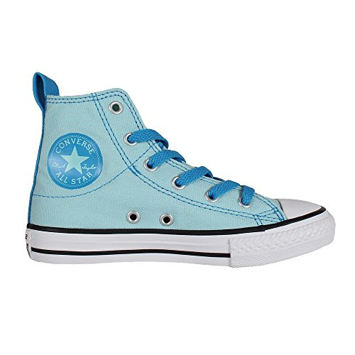 Converse KIDS Chuck CTAS Simple Step Hi Motel Pool Sneaker light blue