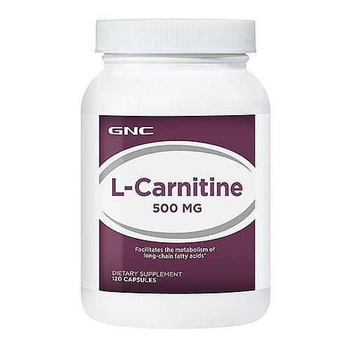 GNC L-Carnitine 500 MG 120 Capsules