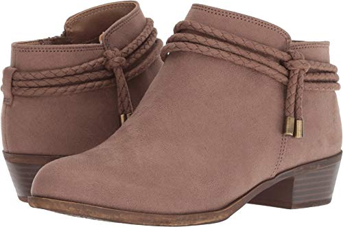 LifeStride Womens Andrea Ankle Bootie (6.5 M, Mushroom) (Womens Ankle Dress Boots)