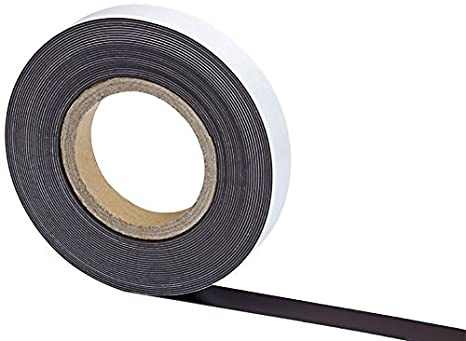 MAUL 6157609 - magnetic strips (Black, White)