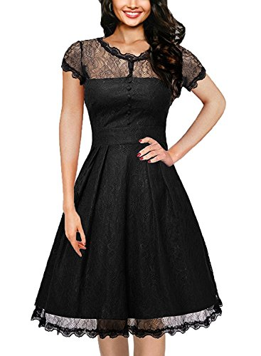 juniors black dress for funeral - 1