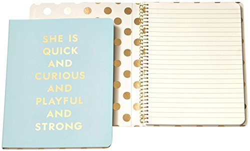 Kate Spade New York Spiral Notebook Quick And Curious