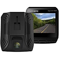 Vomach Mini Dash Cam, Super HD 1440P High Resolution video, G-Sensor, SOS Emergency Saving, ADAS, lDWS, FCWS, GPS tracking, HDMI Output etc. function Black