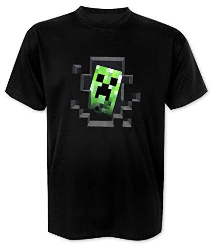Minecraft T-Shirt Creeper Inside - T-Shirt