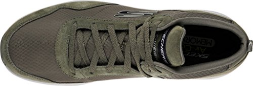 Olive Burst Men's High Skechers M 8 2 Size Sneaker Top Swillin 0 H8ddfxq