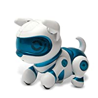 Tekno Newborns Pet Dog Toy Robotic Puppy Perro interactivo que salta, camina y suplica.