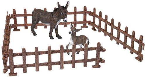 (Papo Set of Fences Toy Figure)