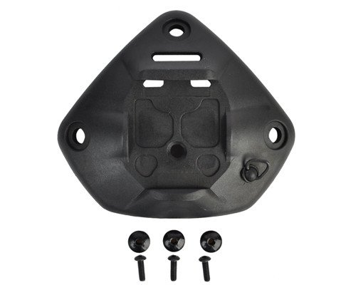 DLP Tactical Universal NVG Mount Shroud for 1-Hole or 3-Hole ACH / MICH / OPS-Core FAST / Crye AirFrame Helmet (Black)