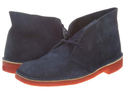 Clarks Men's Originals Desert Ankle Boot,Navy,9.5 M US