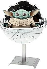 Metal Earth Fascinations Premium Series Star Wars Mandalorian The Child 3D Metal Model Kit