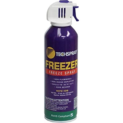 Techspray 1672-10S 10 oz. Envi-Ro-Tech Freeze Spray