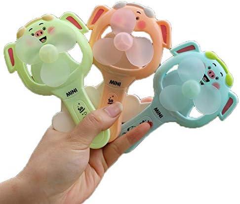 Ventilador de presión manual Juguete infantil Ventilador de mano Portátil portátil Conejo portátil: Amazon.es: Amazon.es