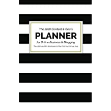 The 2016 Content and Goals Planner for Online Business and Blogging: The Ultimate Mini Workbook to Plan Out Your Whole Year by Steph Russell (2015-11-30)