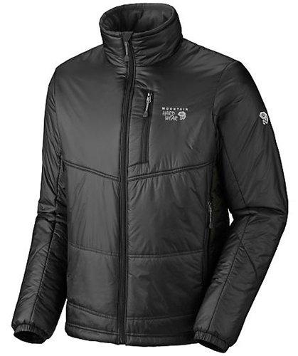 Mountain Hardwear Men's Compressor Jacket, Black / Black, Medium