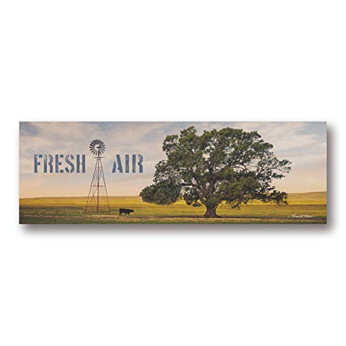 Gango Home Décor Country-Rustic Fresh Air by Karen Tribett (Printed on Paper); One 20x8in Unframed Paper Poster