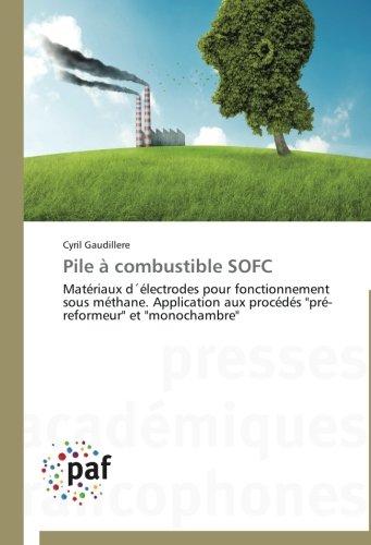 Pile à combustible SOFC: Matériaux d´électrodes pour fonctionnement sous méthane. Application aux procédés