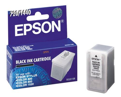 (Epson S020108 Stylus Ink Jet Cartridge (Black))