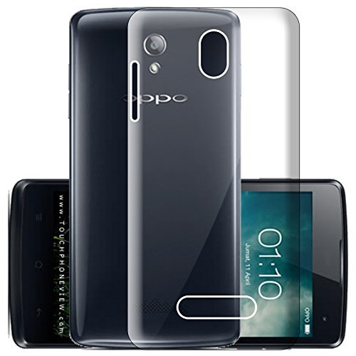 detailed look e80bf 12733 ECellStreet Silicone Soft Back Cover for Oppo Yoyo R2001 (Transparent)