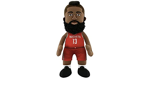 Poupluche (Muñeco de Peluche James Harden - Icon Camiseta - Houston Rockets: Amazon.es: Deportes y aire libre