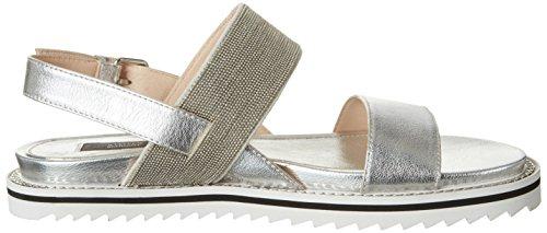 192 Schraut argent Charles femmes sandales pour Steffen Silver Road qHwvERqC
