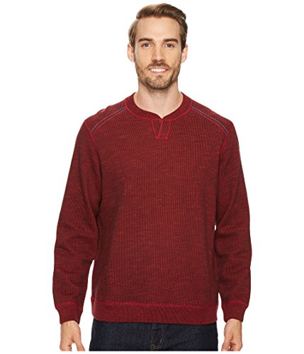 Tommy Bahama  Men's Reversible Flipsider Abaco Sweater Flare Heather XX-Large (Tommy Bahama Lyocell Shirts)