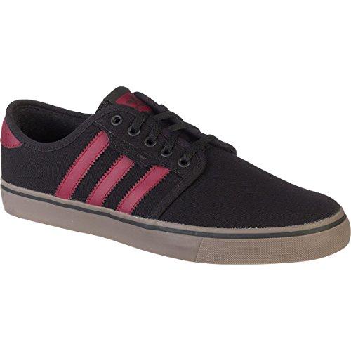 Adidas Performance Seeley Skate scarpe, cenere grigia / bianco / nero, 4 M Us Black/Burgundy/Gum