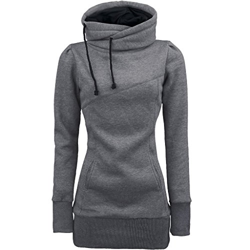 LUNIWEI Women Loose Pullover T Shirt Long Sleeve Blouse