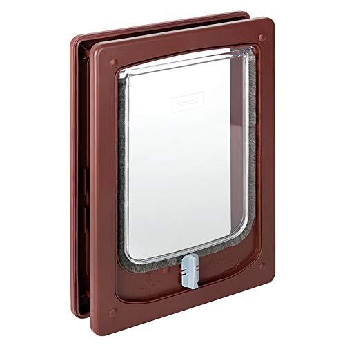Pet -Tek Wood Fitting Small Dog Door witTunnel 32.5X24 cm, 47 -PTW25286