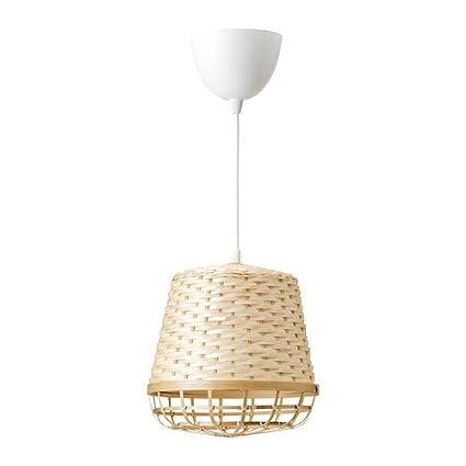 Ikea Industriell 003.963.60 - Lámpara de techo (bambú, 22,8 ...