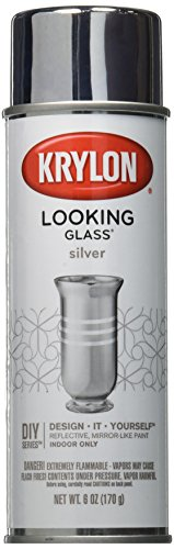 Krylon Looking Glass Silver-Like Aerosol Spray Paint 6 -