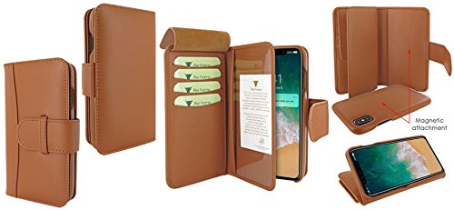 Piel Frama 793 Tan WalletMagnum Leather Case for Apple iPhone X by Piel Frama (Image #6)