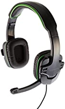 AmazonBasics Gaming Headset for Xbox One, PS4 and PC - Green