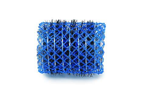 Dna Evolution Nylon Brush Rollers D50mm Blue Pack of 6