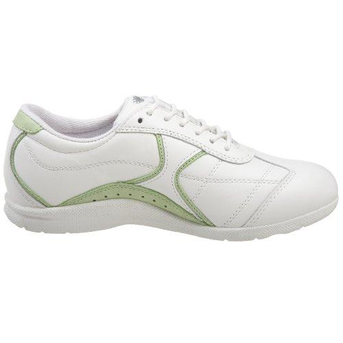 Trok Schoenvrouwen Elite Sneaker Wit / Limoencombinatie