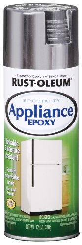 Rust-Oleum 7887830 Appliance Enamel 12-Ounce Spray, Stainless