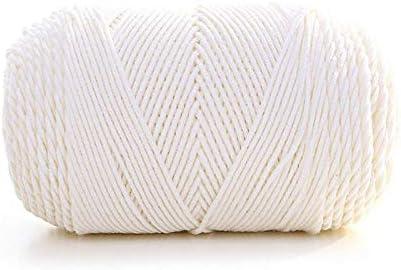 Weshcun - Ovillo de lana de algodón para tejer, 100 g, para sofá, bufanda, color arcoíris, tejido a mano Colour 1: Amazon.es: Hogar