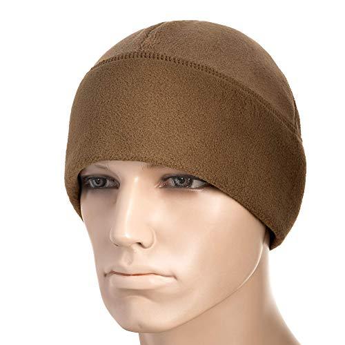 (Windproof Fleece 380 Mesh Tactical Hat Watch Cap Skull Beanie (Coyote, Medium))
