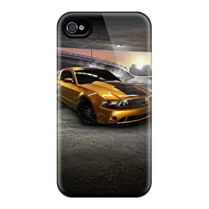Iphone 4/4s Case, Premium Protective Case With Awesome Look - Mustang