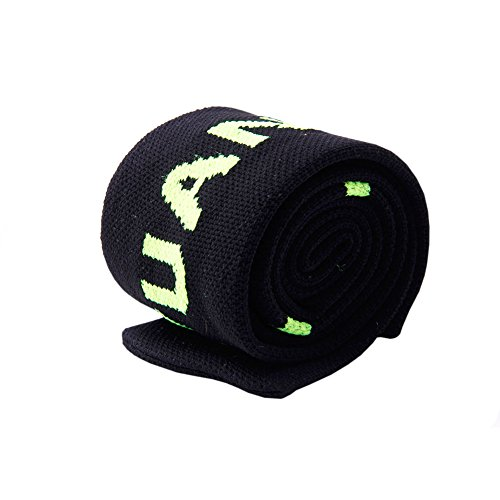 Kocome High Elastic Nylon Fishing Rod Sleeve Cover Pole Glove Protector Bag Gear Tackle (Black)