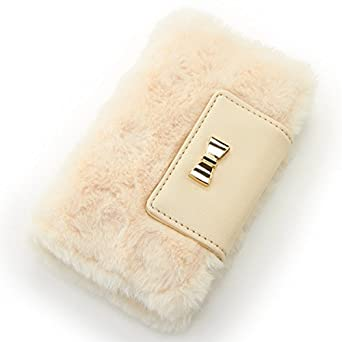 28bf1e5a6a Amazon   イング(INGNI) ファーiPhoneケース   ファッション小物 通販