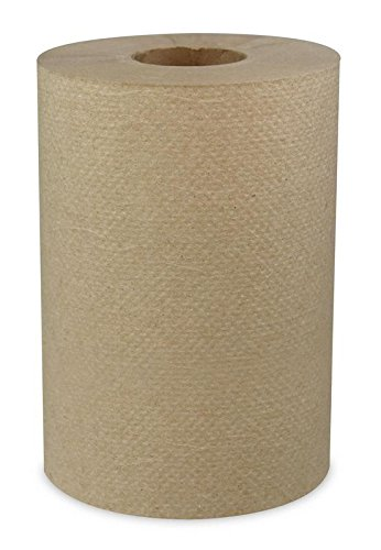 Mayfair 183208 Hardwound Roll Towel, Universal Roll Towels, Natural Color, Roll is 7.8