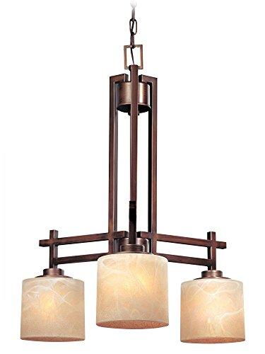 Dolan Designs 2818-133 3Lt English Bronze Roxbury 3 Light Chandelier