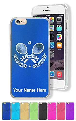 - Case for iPhone 7, Tennis Rackets, Personalized Engraving Included