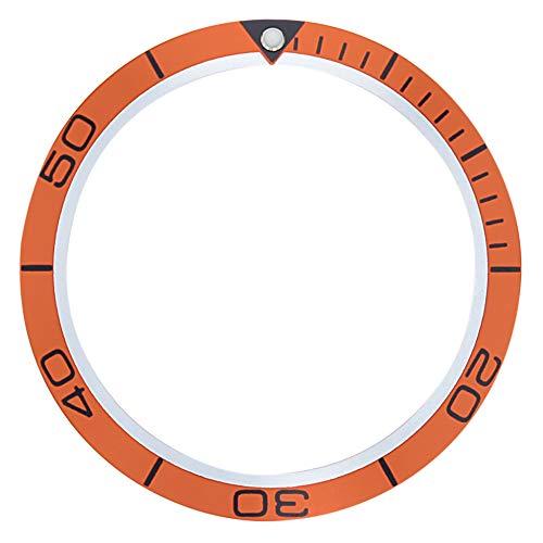 Bezel Insert for Omega SEAMASTER Planet Ocean Chronometer 2209.50 42MM CASE Orange ()