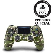 Sony Cuh-zct2u Controle Ps4 Azul, Verde Camuflado - Playstation_4