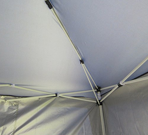 Quictent Privacy 8'x8' Blue EZ Pop Up Party Tent Canopy Gazebo Mesh Curtain Waterproof by Quictent (Image #5)