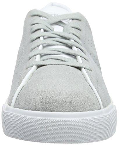 adidas NEO Herren Daily Line Low-Top Grau (Clear Onix/Clear Onix/Ftwr White)