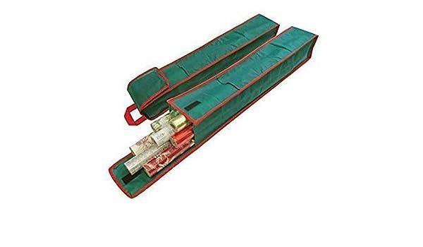 2 unidades con pr/áctica asa de transporte ideal para Pascua Bolsa para guardar los rollos del papel de regalo